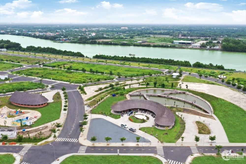 Chính chủ cần bán gấp lô B10-08 Dự án Sài Gòn Riverpark đã có sổ,Giá chỉ 980tr