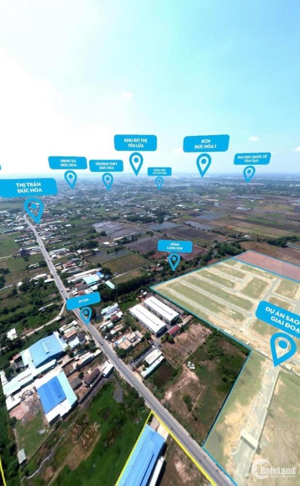 Bán 5 suất nội bộ dự án khu đô thị sao vàng, mặt tiền Tỉnh lộ 825, giá 979 triệu
