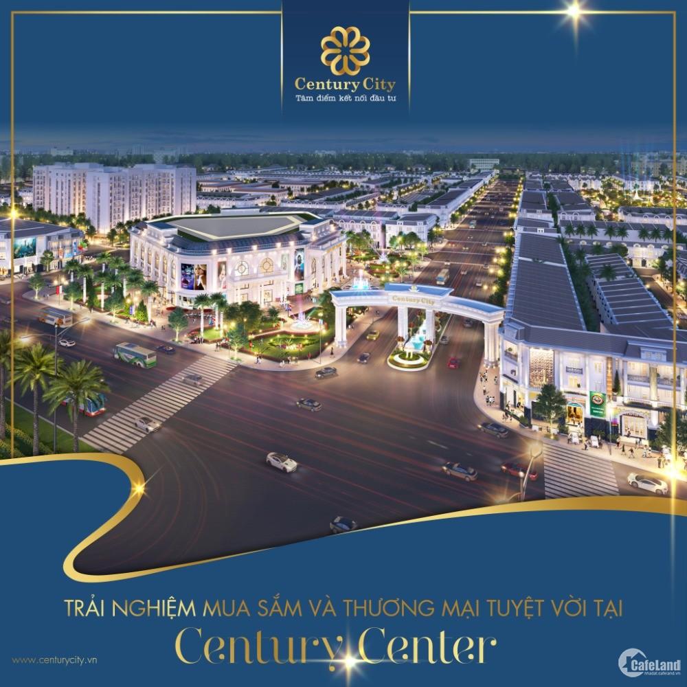 Century City nhận ngay 10% Lợi Nhuận khi Ký HĐ - Sô Hồng Riêng - TC 100%
