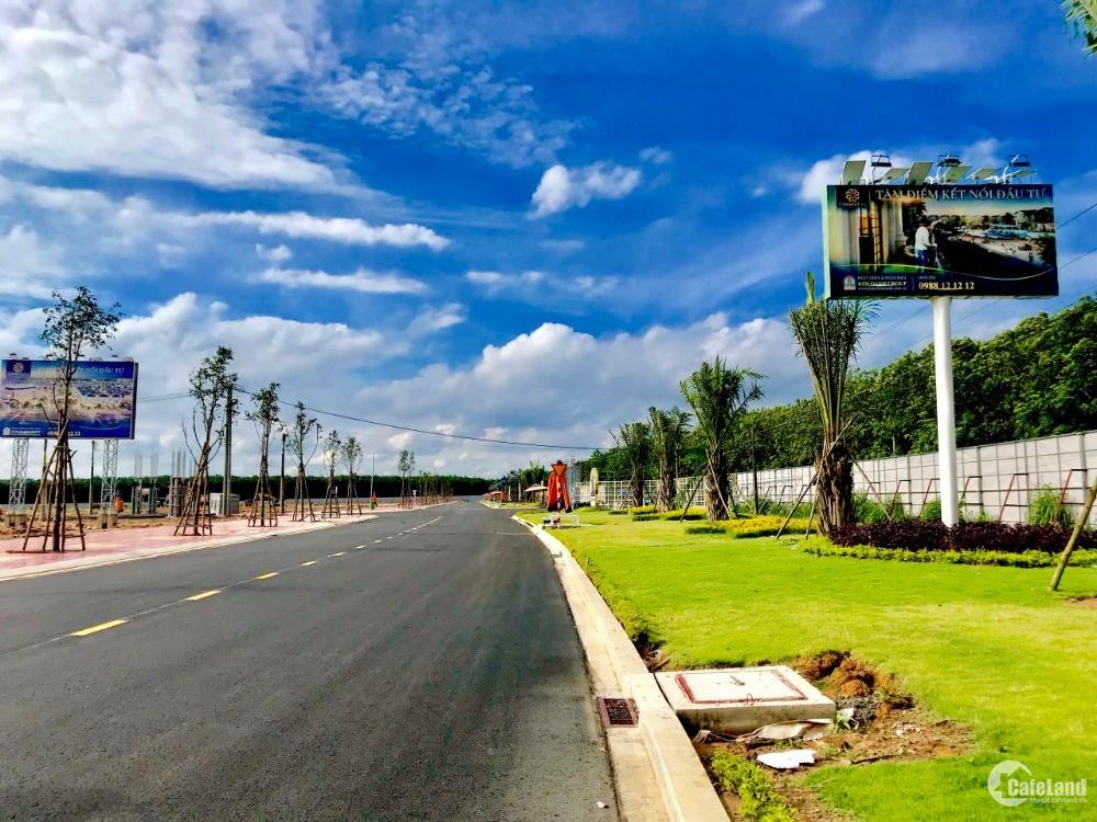 Đất nền sân bay Long Thành, giá rẻ nhất thị trường, sổ hồng riêng, NH 70%