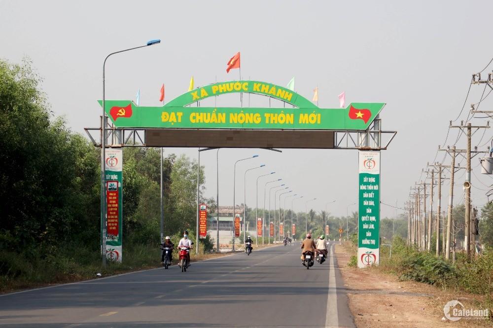 Đất mặt tiền đường lớn, khu dân cư Phước Khánh, đầu tư sinh lời cực tốt