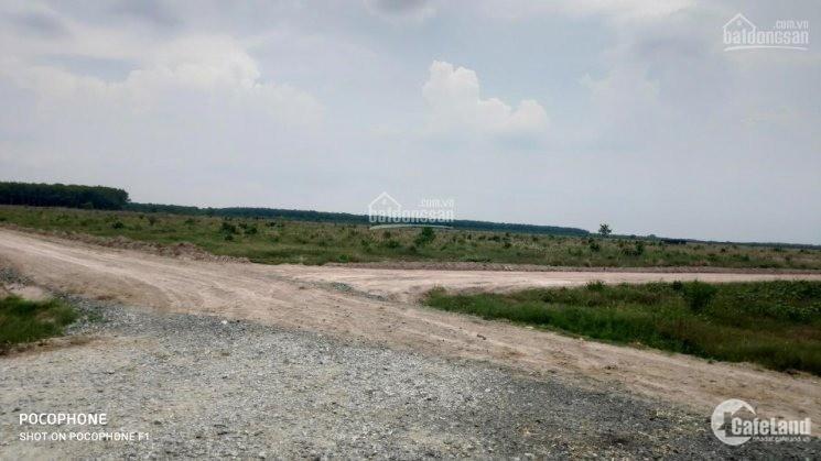 Bán gấp lô đất 200m2, sổ sẵn, thổ cư, ngay khu công nghiệp chỉ 525 triệu