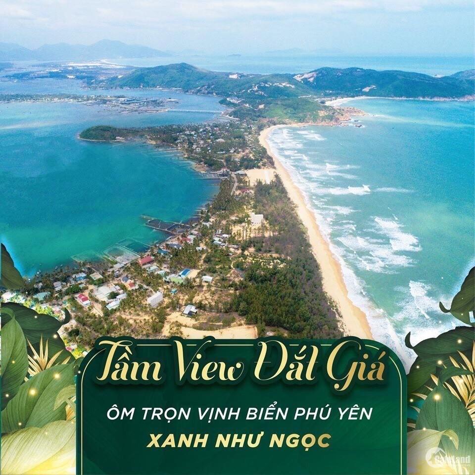 Đất biệt thự ven Biển Phú Yên, sổ đỏ riêng chỉ 600 Triệu/nền