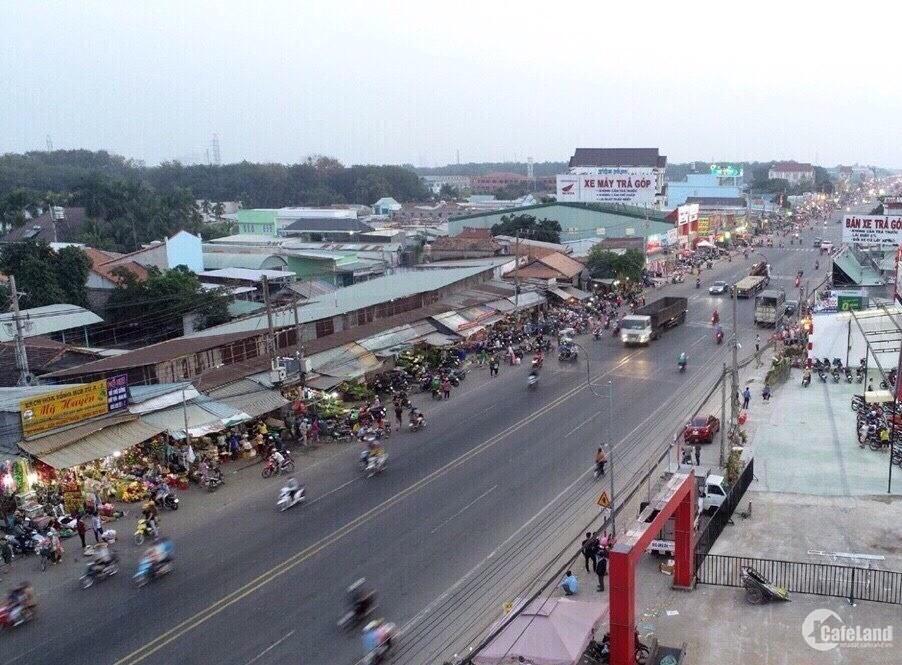 Bán đất ngay KCN Thành Phố Mới giá rẻ 5-6tr/m2, sổ hồng riêng, Hỗ trợ ngân hàng