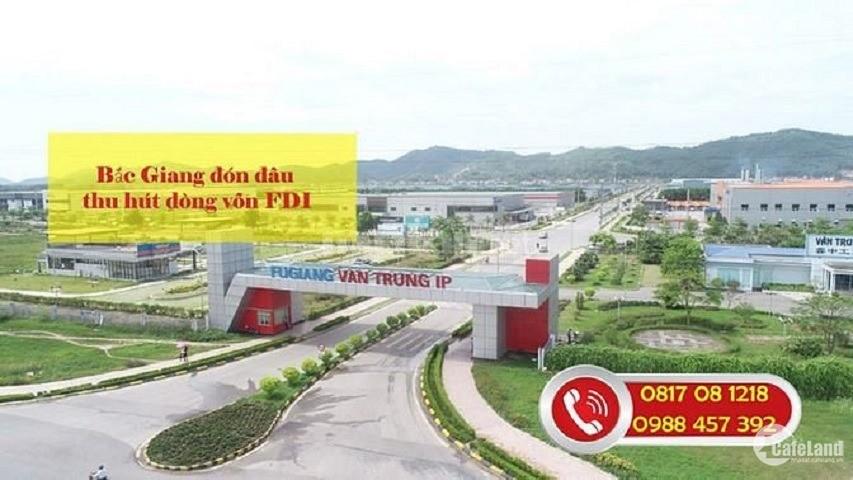 Cần bán 5ha đất KCN Yên Phong, đã xong mặt bằng vào xd ngay, Giá trực tiếp