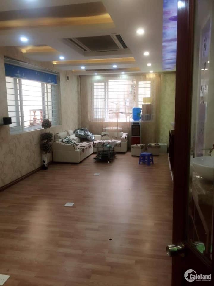 Nhà Thịnh Quang 64m2x7 tầng 3 mặt ngõ, KD, cho thuê 40tr/ tháng