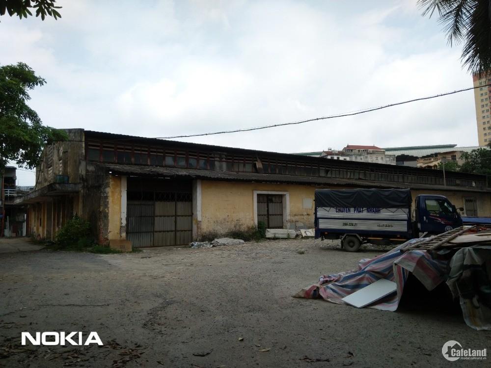 Mặt bằng kho xưởng tại Ba La - Quang Trung, Hà Đông