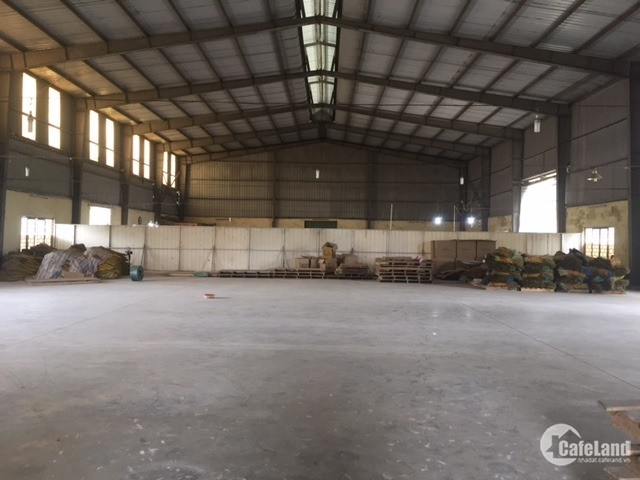 Cho thuê kho xưởng DT 1100m2 Lại Yên Hoài Đức Hà Nội