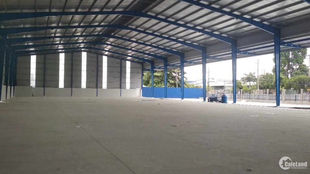 Cần cho thuê kho xưởng mặt tiền Lê Văn Khương Quận 12, diện tích 4.000m2