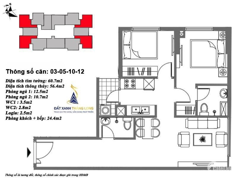 Cần bán lại chung cư giá rẻ do không có lực đóng đợt 2 Lh0971264907