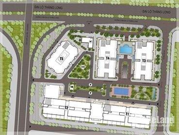 Tòa T4 chung cư Thăng Long Capital chỉ 1,3 tỷ/ căn. Ngay gần Mỹ Đình