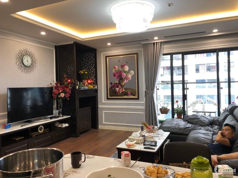Bán căn hộ 3PN Imperia Garden 129m tầng trung đủ nội thất 0985800205