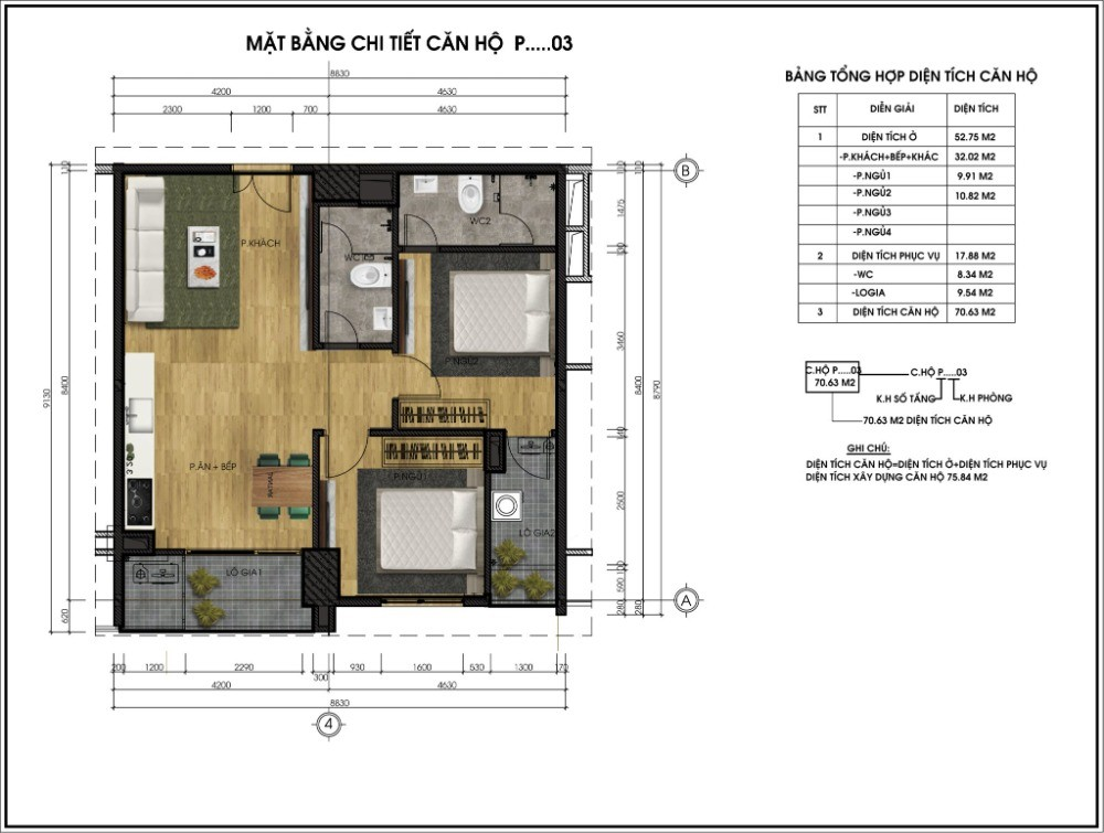 Chính chủ cần bán căn hộ tại chung cư CT5 Lê Đức Thọ Lh 0971264907