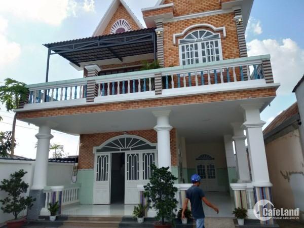 Biệt Thự + 7 phòng trọ đường lớn 8m Phước Vĩnh An, Củ Chi