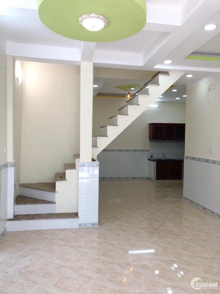 Nhà mới (6*10m) 1 lầu, vào ở ngay gần MT Hưng Phú P10 Q8 _ MS Thùy 0933083116