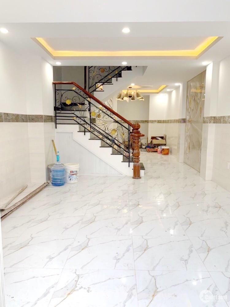 4*13m/lửng+2lầu 5PN mới, Hẻm Xe Hơi Phạm Hùng Phường 4 Q8 - Ms Thùy 0933083116