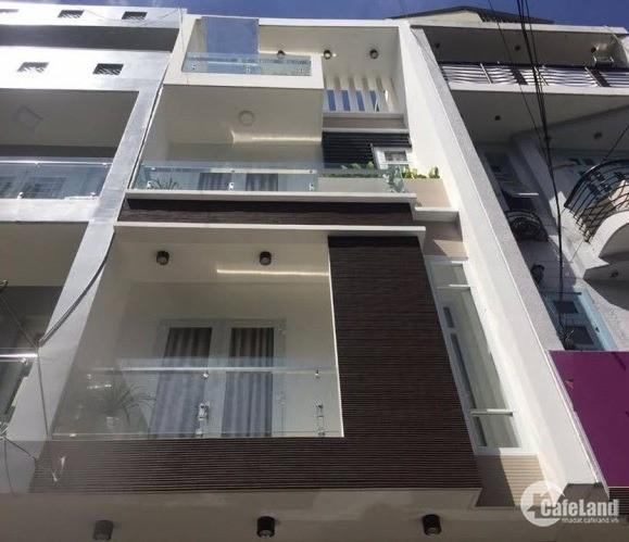 Bán nhà gấp xe hơi Lý Thường Kiệt, Tân Bình, 4,5x12m, 3 tầng