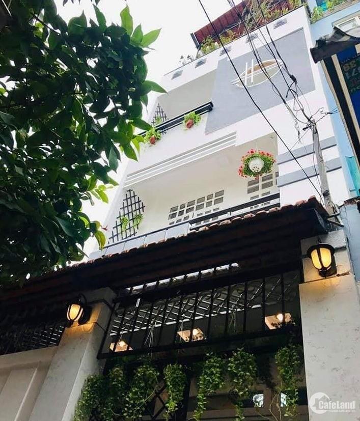 Bán nhà xinh Bùi Thị Xuân, Tân Bình, 4x11m,  4 tầng,