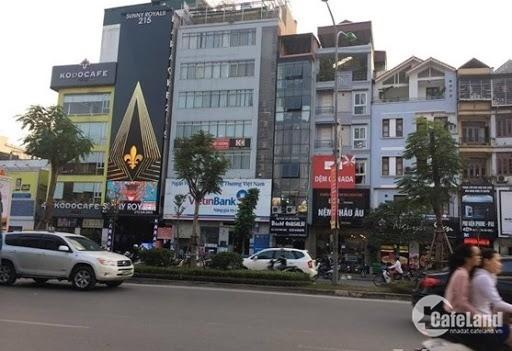 Cần bán gấp biệt thự 5 tầng-120m2 đường Cầu Giấy,phường Quan Hoa, Q.Cầu Giấy-HN