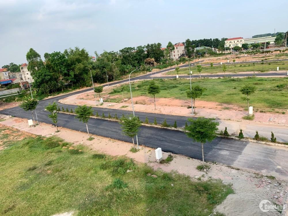 Lô biệt thự siêu vip 2 mặt tiền view hồ thành phố Bắc Giang tại khu đô thị mới K