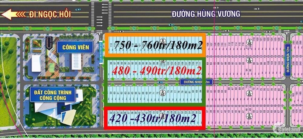 Cập nhật những lô giá rẻ dự án Mega City Kon Tum – mua đầu tư sinh lời ngay