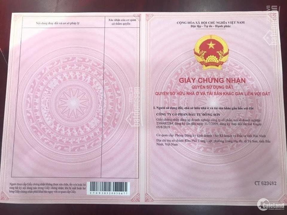 Đất Nền Dự Án Landora Aroma Bắc Ninh: Giá 18tr/m2, CK 5%, Vay LS 0%, tặng 100tr