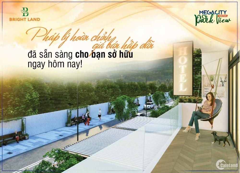 Mở bán phân khu mới dự án Mega City Kon Tum ngay mặt quốc lộ