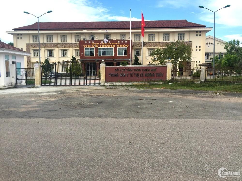 Siêu phẩm đất nền KQH Đỗ Xuân Hợp, Phú Bài. Đối diện BVĐK Hương Thủy