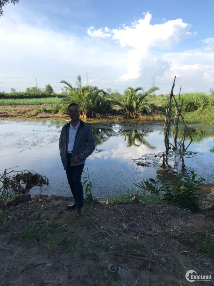 Đất vườn thổ cư, mặt sông rộng