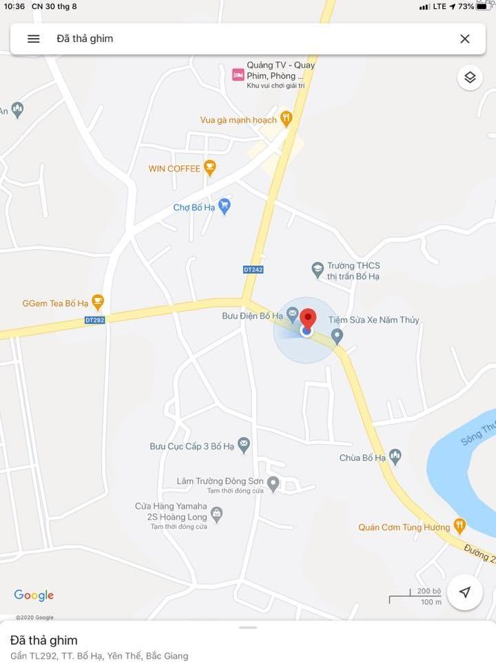 CHÍNH CHỦ CẦN BÁN ĐẤT trung tâm thị trấn Bố Hạ, Yên Thế, Bắc Giang.