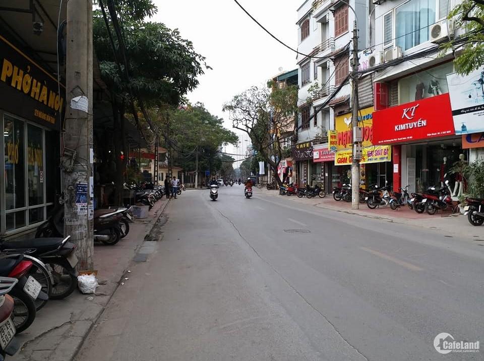 Mua bán nhà Mặt Phố Hoàng Văn Thái, vỉa hè, kinh doanh sầm uất.