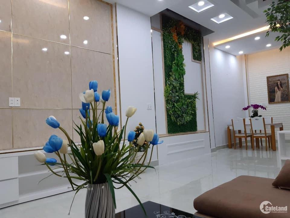Kẹt tiền bán gấp nhà MỚI HXH Phan Văn Trị 45m2 3 lầu giá 6.1 tỷ tl sâu.