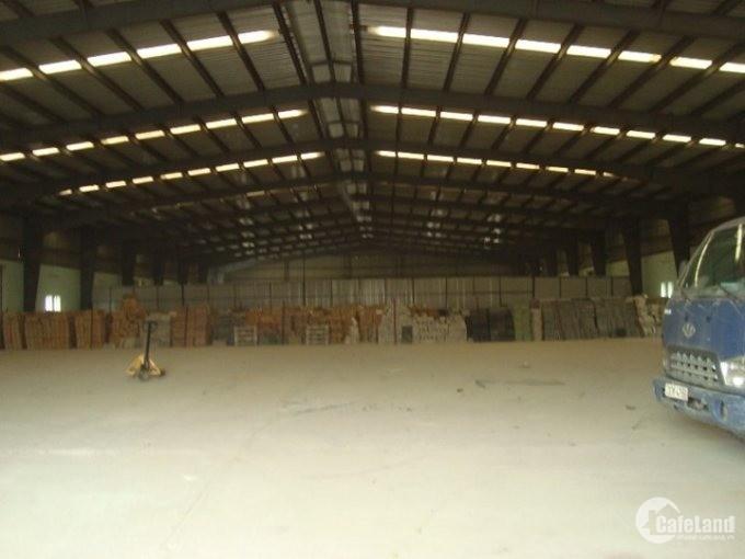 Cho thuê kho xưởng DT 4500m2 KCN An Khánh, Hoài Đức, Hà Nội