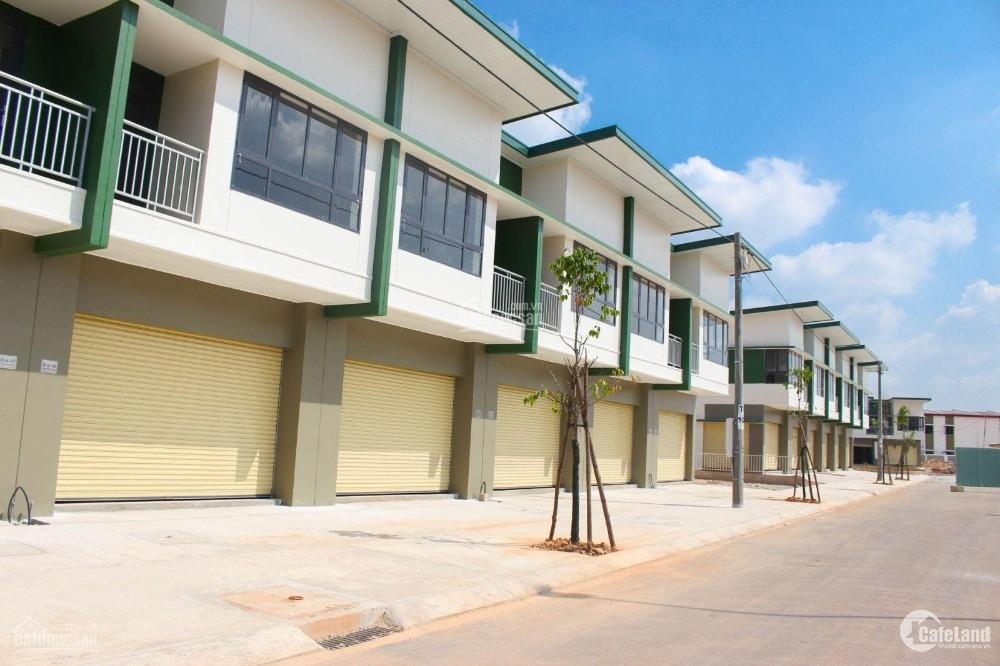 Cho thuê nhà phố dự án Oasis City 3, Mỹ Phước Bến Cát Bình Dương