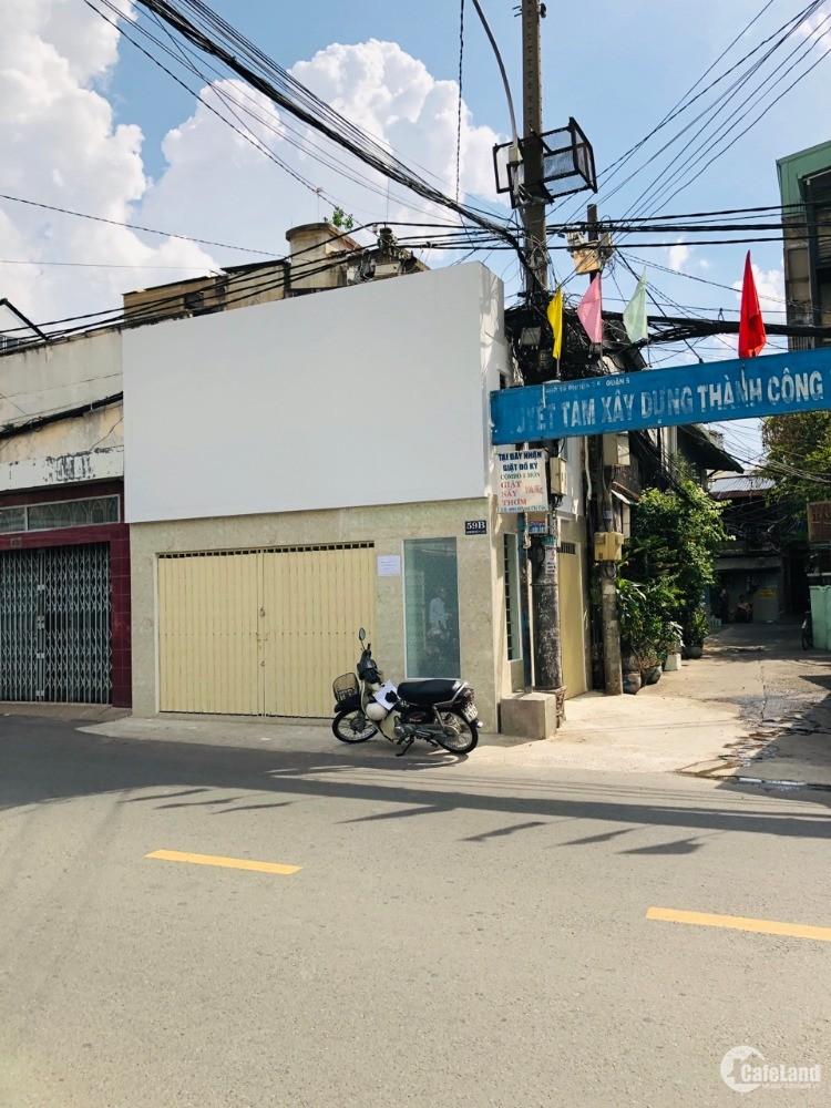 Cho thuê nhà mặt tiền nguyên căn số 59B Huỳnh Mẫn Đạt, P.5, Q.5