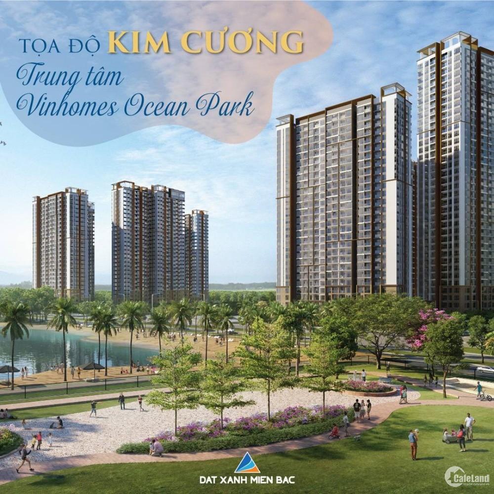 Mở bán căn hộ 2PN + 1 view hồ Ngọc trai Vinhomes Ocean Park