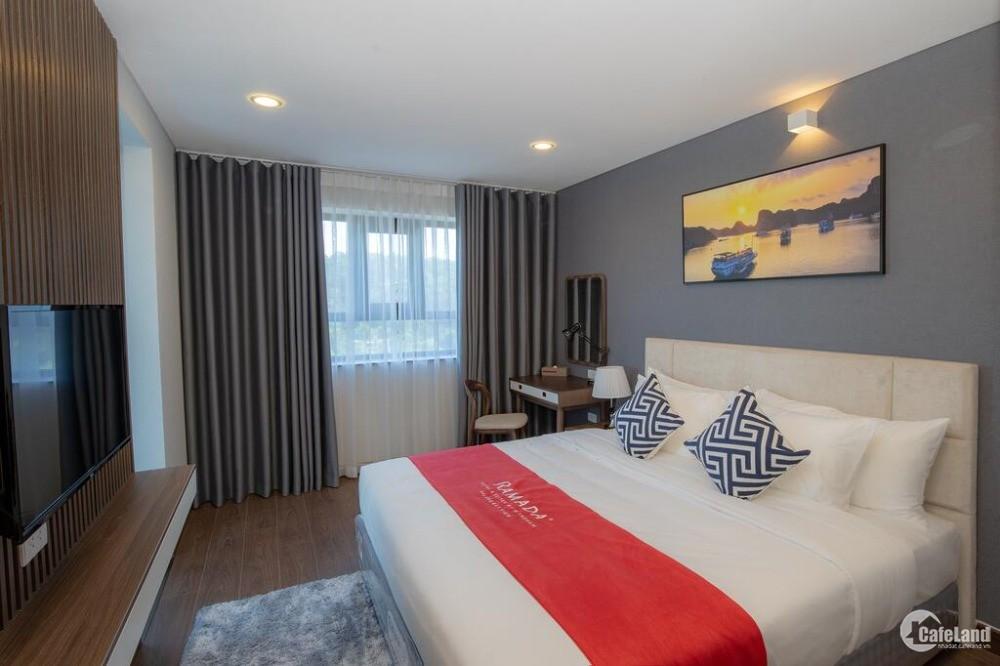 căn hộ cao cấp tiêu chuẩn khách sạn tại Ramada By Wyndham Hạ Long Bay View