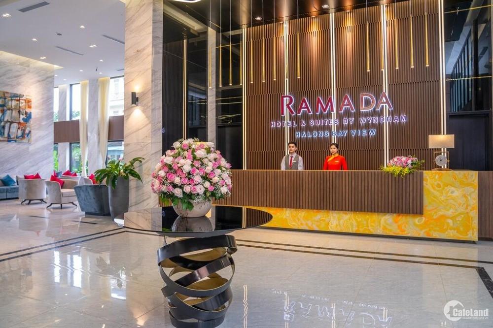 Căn hộ Ramada by Wyndam Hạ Long Bay View - ủy thác kinh doanh lợi nhuận