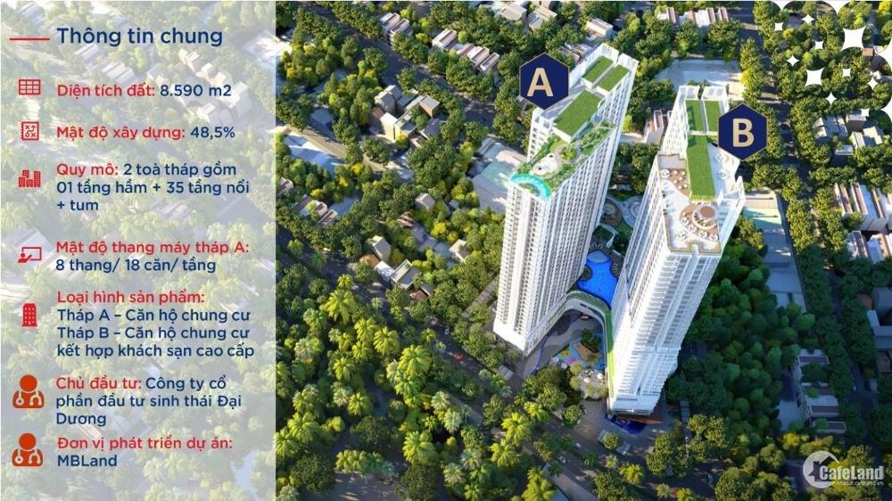 Bán căn studio 32 m2 view biển và hồ bơi cực đẹp chung cư Ruby Hạ Long giá CĐT!