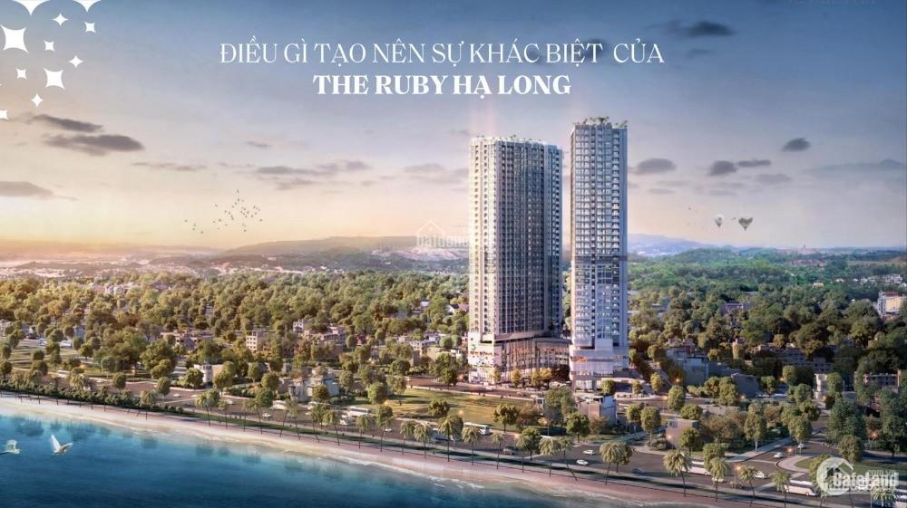Chỉ 900 triệu đầu tư căn hộ tại The Ruby - Hạ Long