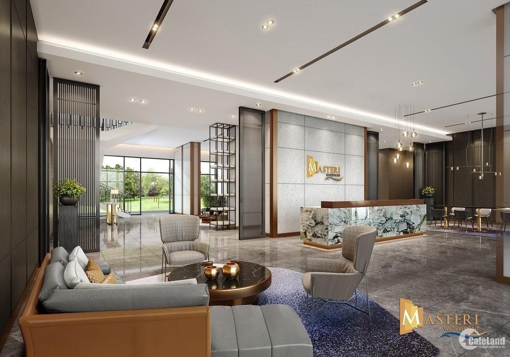 Bán nhanh căn chung cư Masteri 2PN view hồ ngọc trai Vin Ocean Park