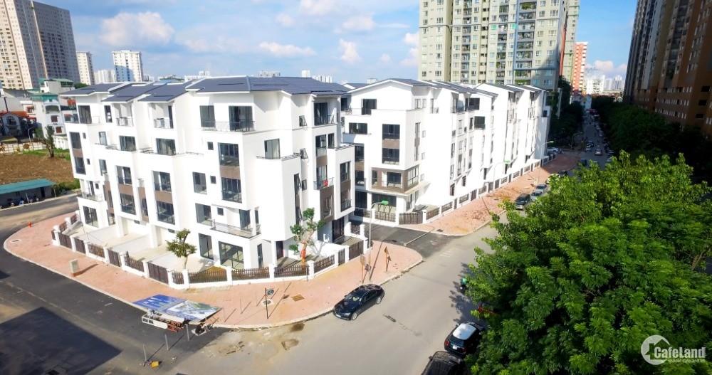 Biệt thự 3 tầng mặt hồ trung văn, đường 22,5m, 312m2 giá 145tr/m2 cả xây