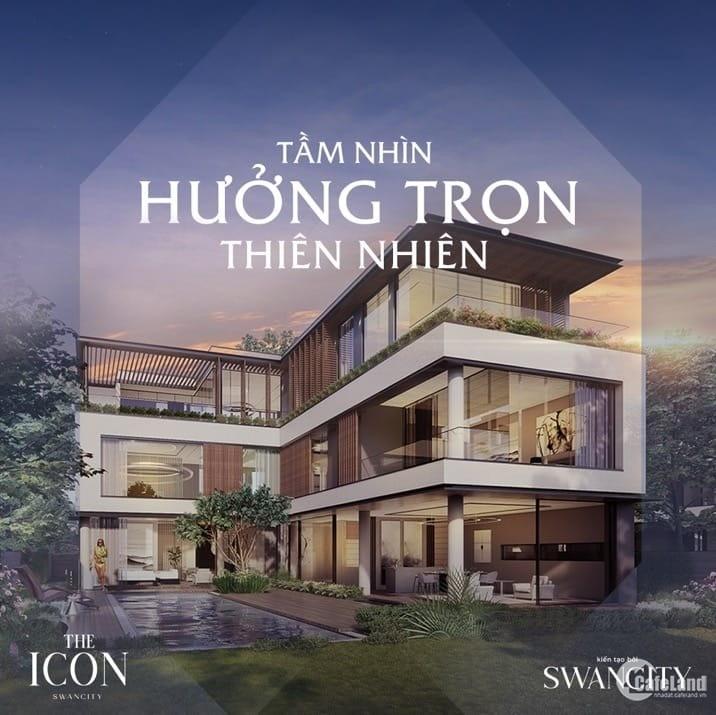 Tuyệt phẩm dinh thự The Icon Swancity Đông Sài Gòn - 700 m2- 30tr/m2 -0936122125