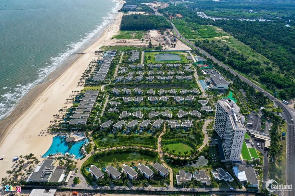 Bán biệt thự mặt biển, shop villa mặt tiền biển Melia The Hamptons Hồ Tràm