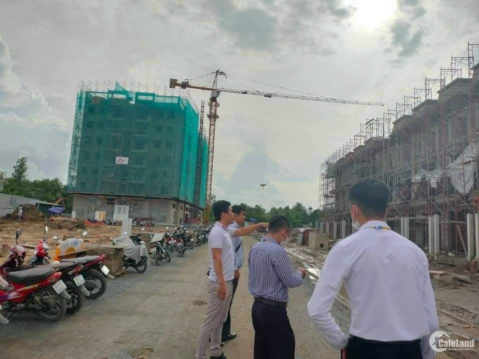 Đất nền dự án Khu đô thị kín quận Cái Răng - Cần Thơ - Tặng kèm móng cọc nhồi