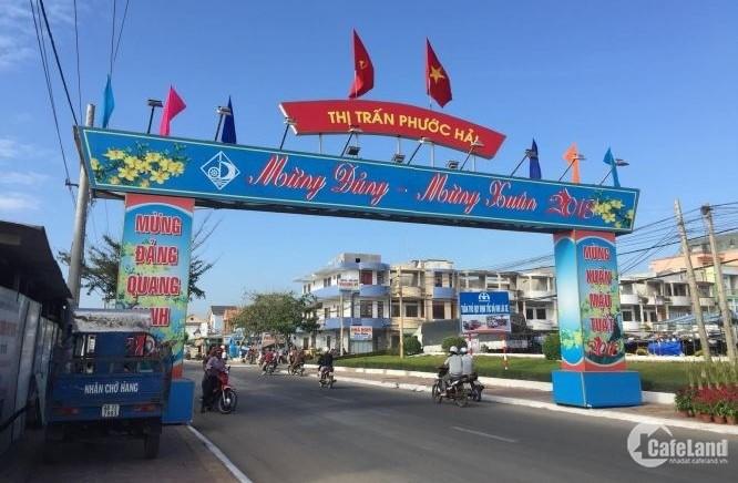Bán căn nhà cấp 4 MẶT TIỀN đường chính ven biển thị trấn Phước Hải, huyện Đất Đỏ