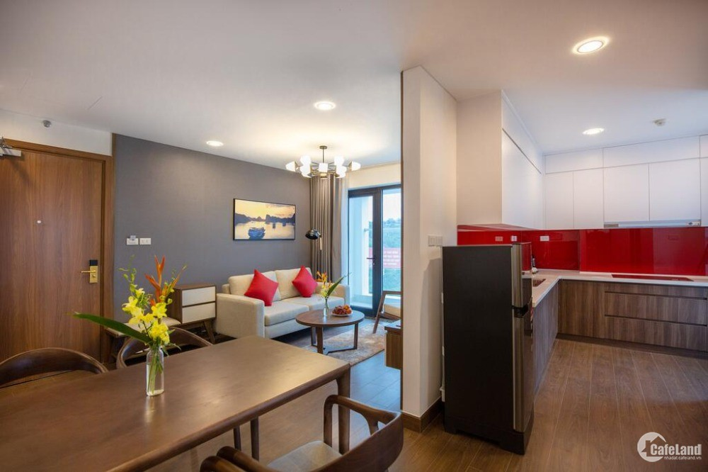 Căn hộ chung cư full nội thất sinh lời vượt trội tại trung tâm TP Hạ Long