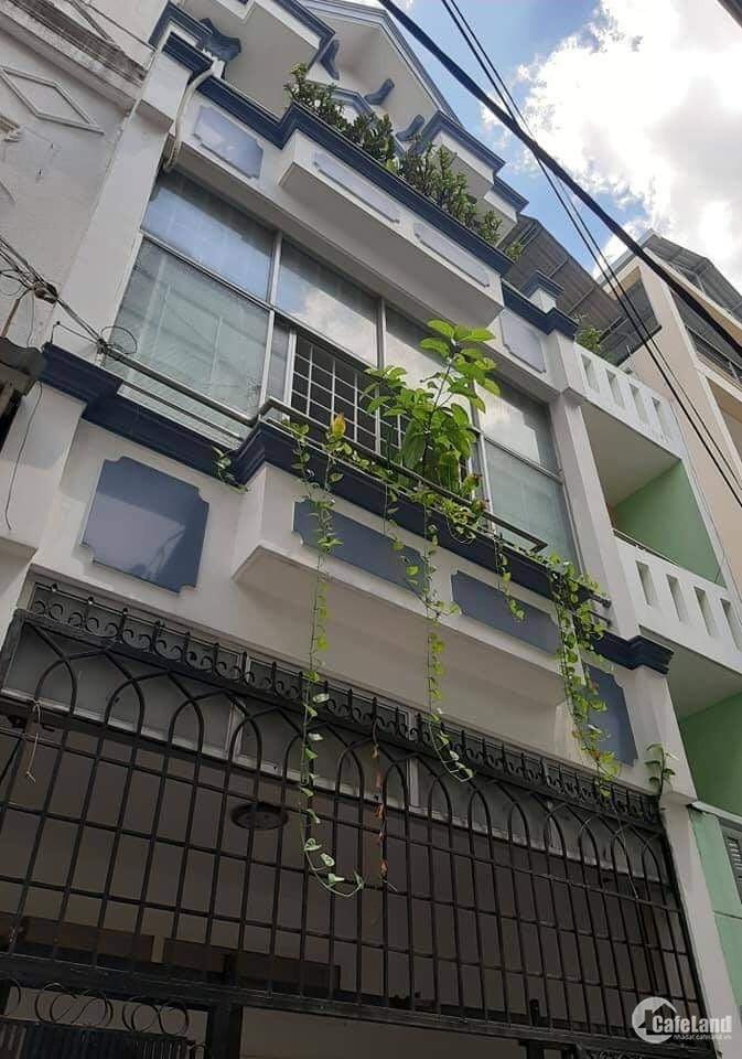 Bán nhà hẻm xe tải Hoàng Sa, Tân Bình, 4x14m ,4 tầng