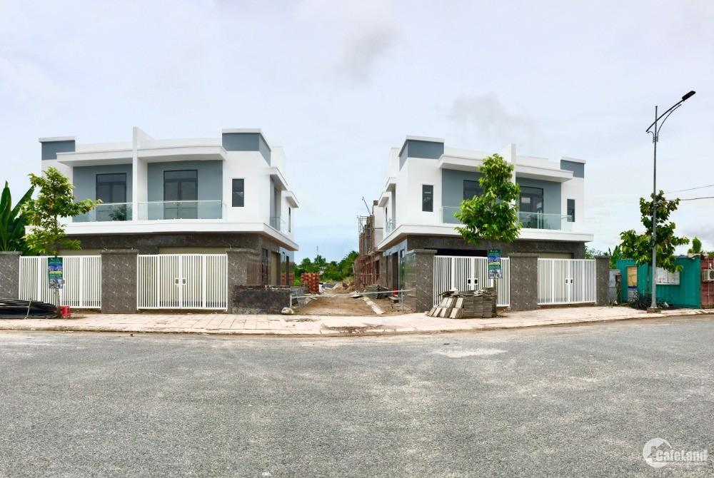 Bán nhà tại Vĩnh Long Village, Phường Tân Ngãi,Vĩnh Long.DTSD 198m2 giá 1,850 tỷ