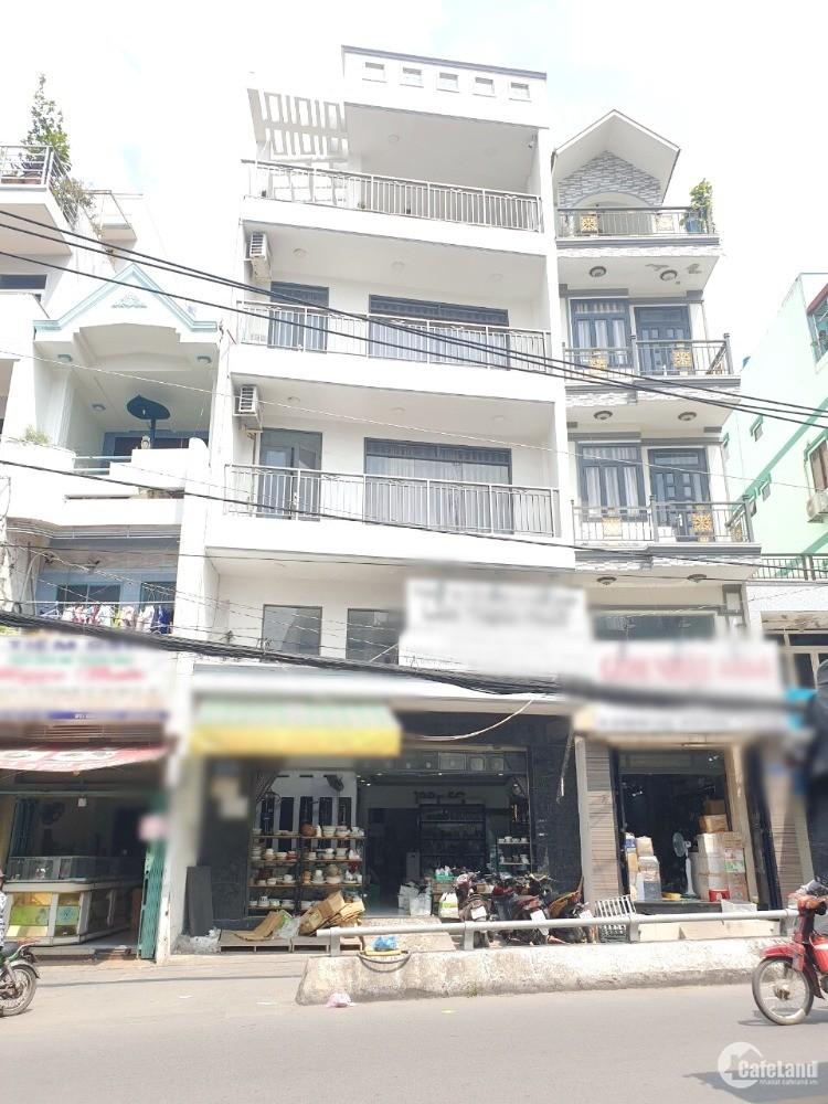6.5*14m/lửng/3lầu/7PN mặt tiền Hưng Phú Phường 10 Quận 8